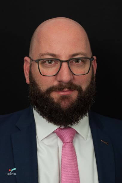 Laurent Peusch chef du service employeur de l'ADEM